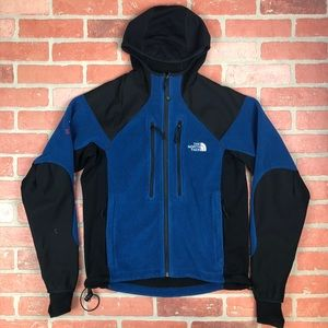 NORTH FACE Summit series polartec fleece hooded S
